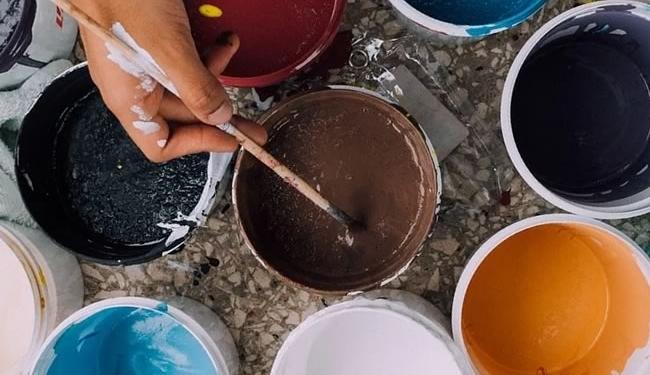 farver indretning og gulv